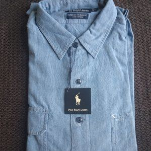 Ralph Lauren, Dungaree Button Down Workshirt
